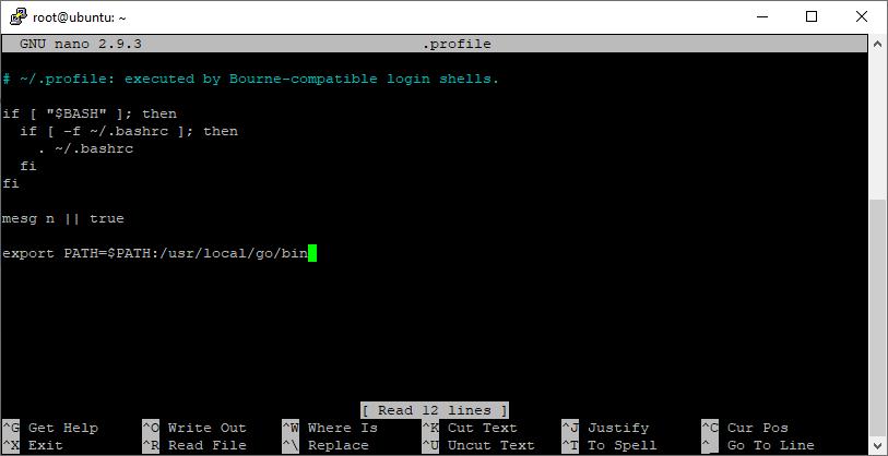Append Gopath In Profile Script