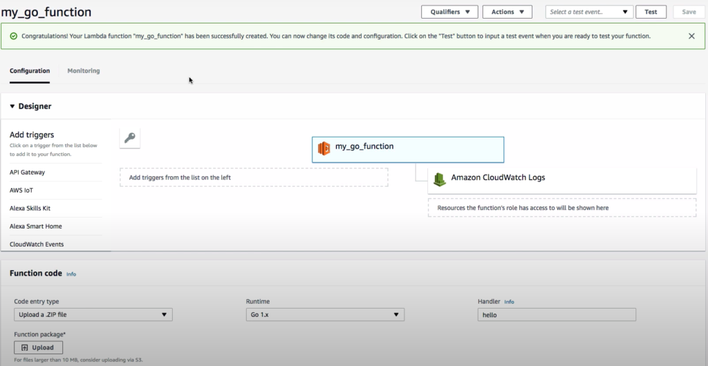 Aws Function Interface For Upload